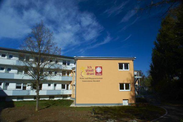 Altenpflegeheim Mariahilf Passau Außenansicht Gebäude