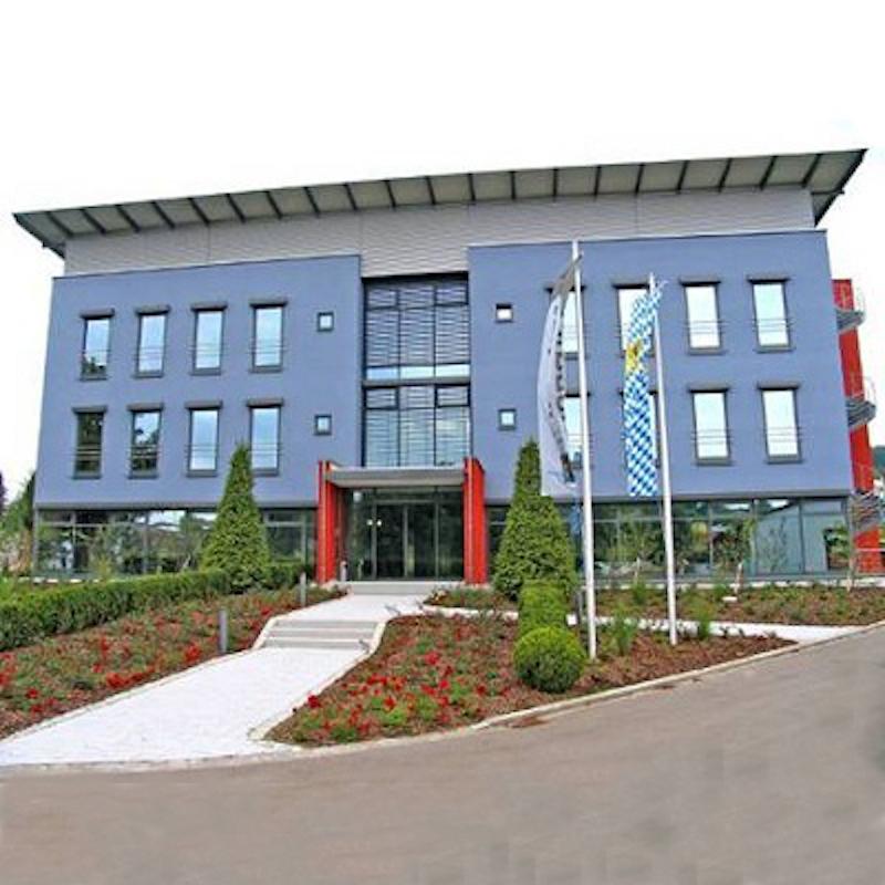 Irlbacher Schönsee Verwaltungs- und Bürogebäude Außenansicht Neubau