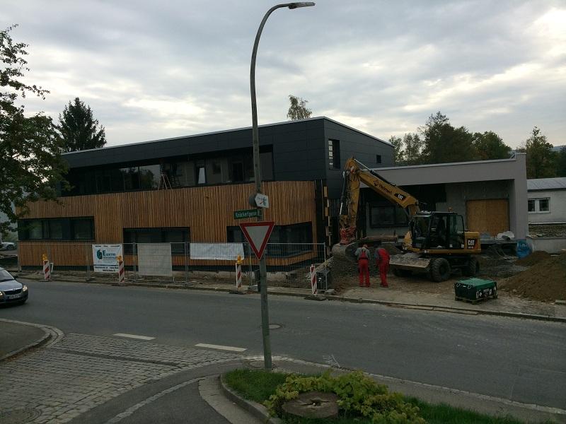 Pelz&Design Hofstetter Neubau Außenansicht