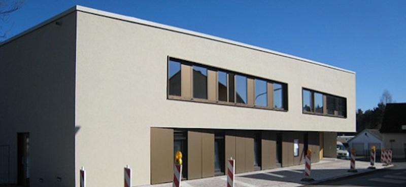 Rathaus Weiherhammer Außenansicht Fassade