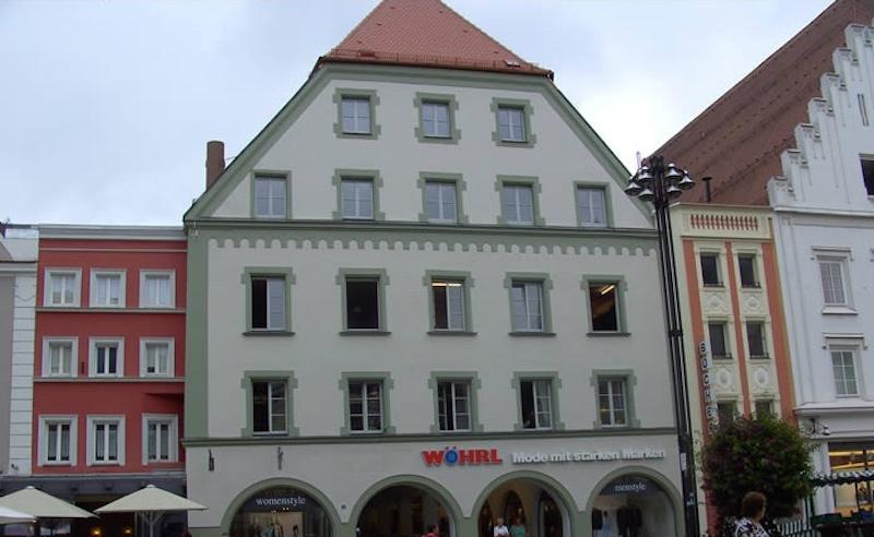 Wöhrl Verkaufshaus Renovierung