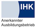 IHK Logo für anerkannte Ausbildungsbetriebe