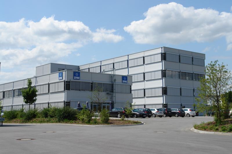 Zitec Bürogebäude Neubau Außenansicht