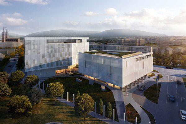 Hotel und Konferenzgebäude – Neubau