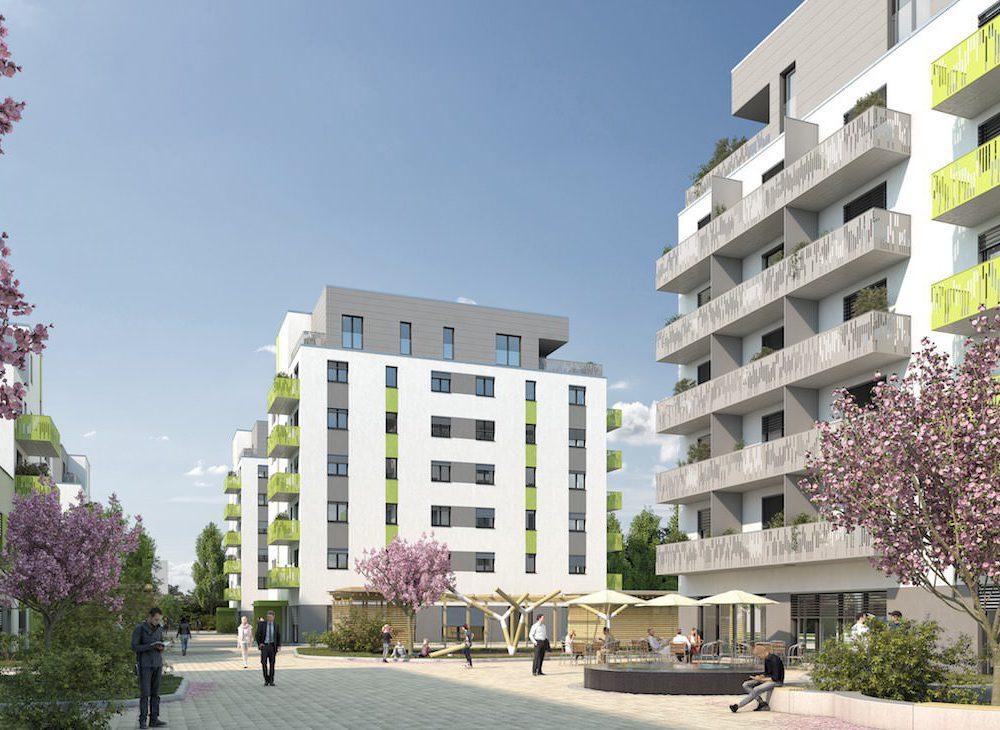 Quartier Neue Naabwiesen – Neubau