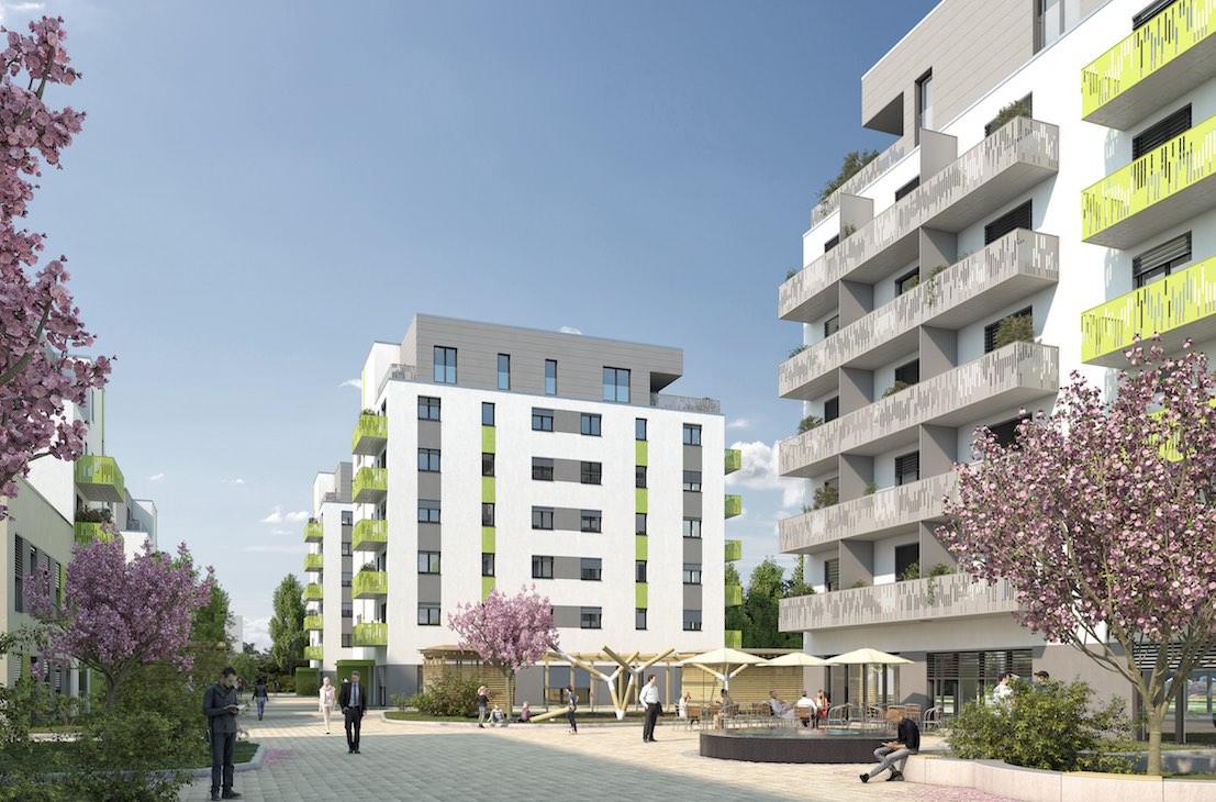 Ansicht Neue Naabwiesen Weiden Neubau
