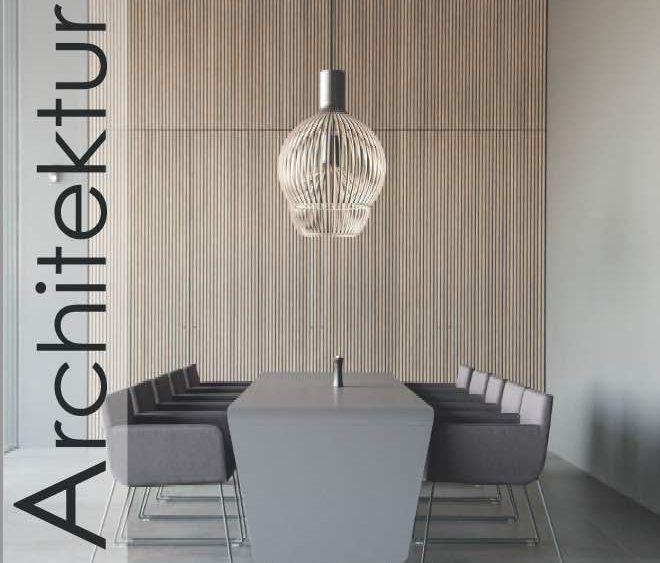 Titelseite Magazin Architektur exklusiv