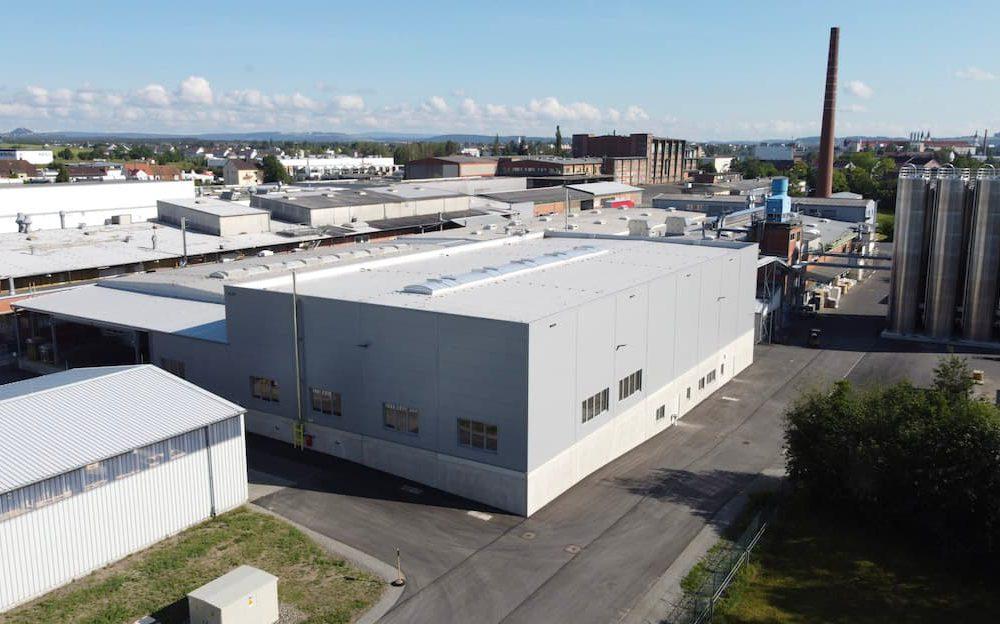 Mitras Produktionshalle Weiden – Neubau