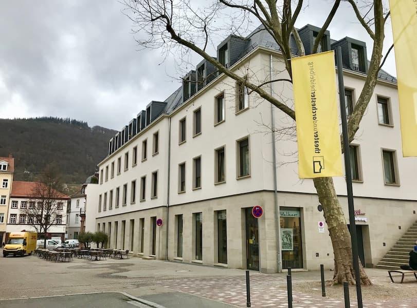 Ansicht von Außen Neubau Wormser Hof Heidelberg